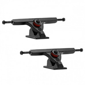 Caliber II 184mm 10in 50 Degree Black Black Longboard Trucks Main