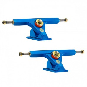 Caliber II 184mm 10in 50 Degree Satin Blue Longboard Trucks Main