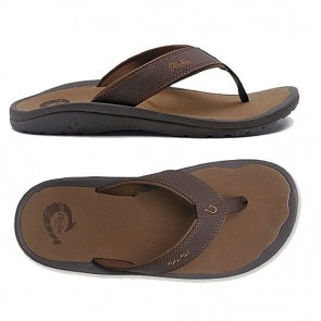 OluKai Ohana Dark Java / Ray Mens Sandals
