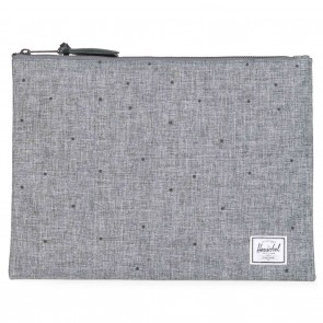 Herschel Network Xtra-Large Pouch Scattered Raven Crosshatch