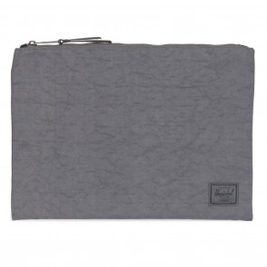 Herschel Network Xtra-Large Pouch Dark Shadow Wrinkled Nylon