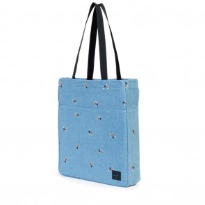 Herschel Canvas Travel Tote Denim Mickey