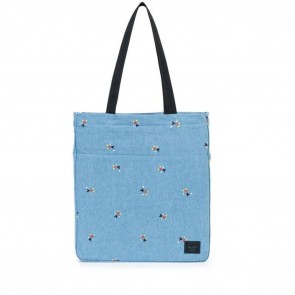 Herschel Canvas Travel Tote - Denim Mickey