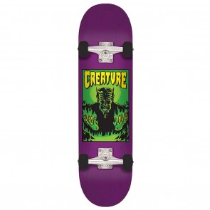 Creature Lil Devil Team Mid Purple Skateboard Complete