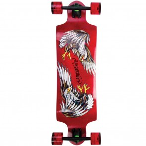 Landyachtz Switch 35 Eagle Longboard Complete - Back