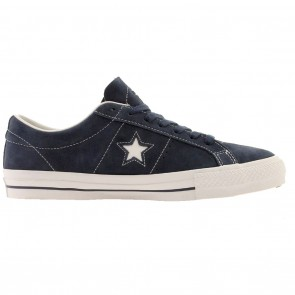 Converse One Star OX Skate Shoes - Navy