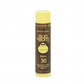 Sun Bum SPF 30 Banana Lip Balm Sunscreen