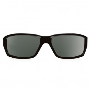 Spy DIRTY MO Black with Happy Grey Green Sunglasses