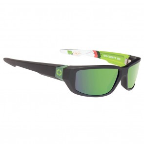 Spy DIRTY MO Mountain Dew Livery / Happy Bronze with Green Spectra Sunglasses