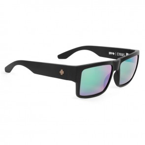 Spy CYRUS Matte Black Happy Bronze Polarized with Green Spectra Sunglasses