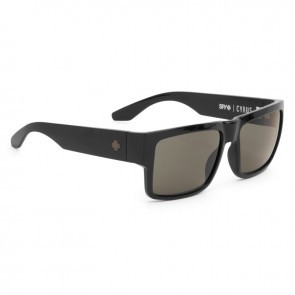 Spy CYRUS Matte Black / Happy Grey Green Sunglasses