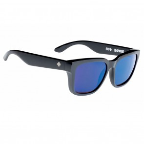 Spy BOWIE Black / Happy Bronze Polarized with Blue Spectra Sunglasses