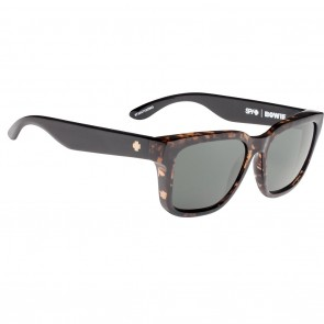 Spy BOWIE Sunglasses - Alana Dark Tortoise Black with Happy Grey Green