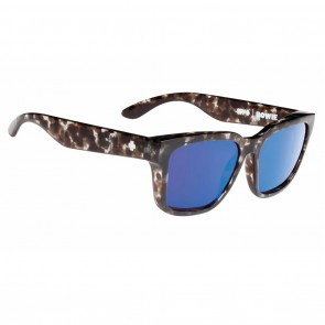 Spy BOWIE Smoke Tortoise / Happy Bronze with Blue Spectra Sunglasses