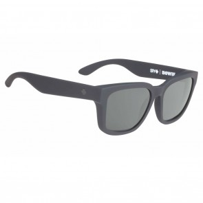 Spy BOWIE Soft Matte Black / Happy Grey Green Sunglasses