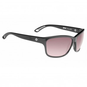 Spy ALLURE Black / Happy Merlot Fade Sunglasses