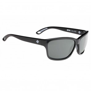 Spy ALLURE Black / Happy Grey Green Polarized Sunglasses