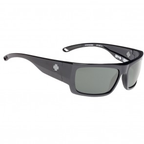 Spy ROVER Sunglasses - Black Ansi RX with Happy Grey Green