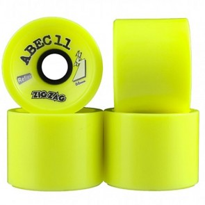 Abec 11 ZigZags 70mm Longboard Wheels - Durometer 83a
