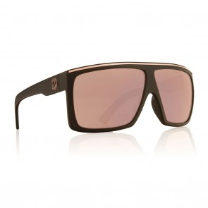 Dragon Fame Matte Black / Rose Gold Sunglasses