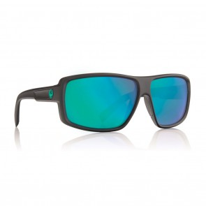 Dragon DOUBLE DOS Matte H2O / Green Ion P2 Polarized Sunglasses
