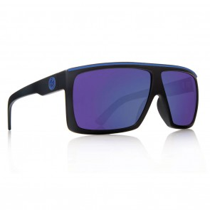 Dragon Fame H2O Matte Black / Blue ION P2 Polarized Sunglasses