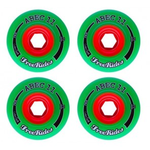 Abec 11 Centerset Freerides 72mm Longboard Wheels - Durometer 81a