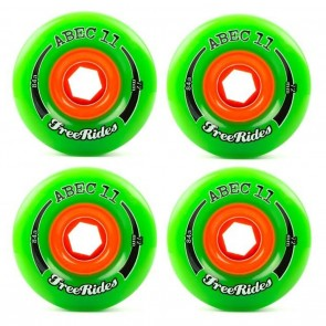 Abec 11 Classic Freerides 72mm Longboard Wheels - Durometer 84a