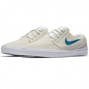 Nike SB Hyperfeel Stefan Janoski Summit White / Industrial Blue Skate Shoes
