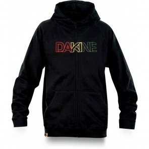 Dakine Drop Out Men's Zippered Hoodie - Black