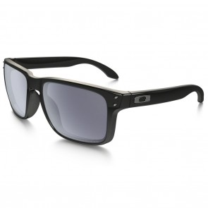 Oakley HOLBROOK Polished Black with Grey Polarized sunglasses-oo9102-02