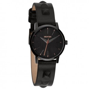 Nixon KENZI Leather All Black with  Studded Watch-A398-1669