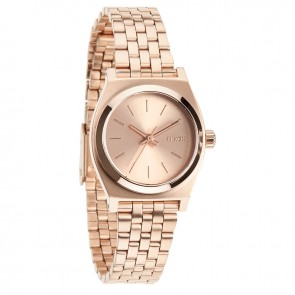 Nixon SMALL TIME TELLER All Rose Gold Watch-A399-897