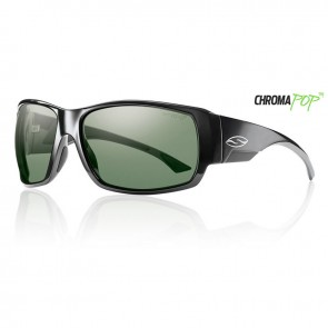 Smith DOCKSIDE Black Chromapop Polarized Gray Green Sunglasses