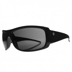 Electric CHARGE XL Gloss Black Melanin Grey Sunglasses