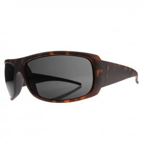 Electric CHARGE XL Blackeyed Tortoise Melanin Grey Sunglasses
