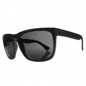 Electric KNOXVILLE XL Matte Black Melanin Grey Polarized Level 1 Sunglasses