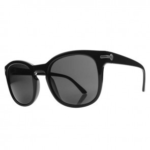 Electric RIP ROCK Gloss Black Melanin Grey Sunglasses