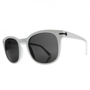 Electric RIP ROCK Gloss White Melanin Grey Sunglasses