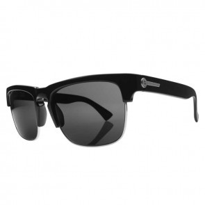 Electric KNOXVILLE Union Gloss Black Melanin Grey Sunglasses