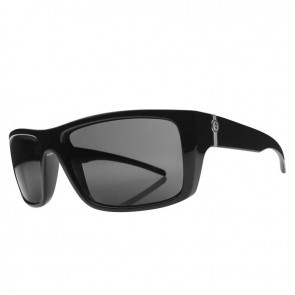 Electric SIXER Gloss Black Melanin Grey Polarized Level 1 Sunglasses