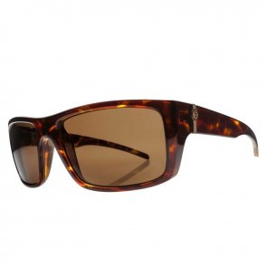 Electric SIXER Gloss Tortoise / Melanin Bronze Polarized Level 1 Sunglasses