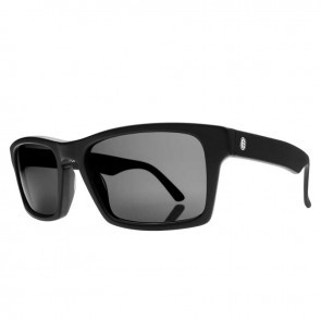 Electric HARDKNOX Matte Black Melanin Grey Sunglasses