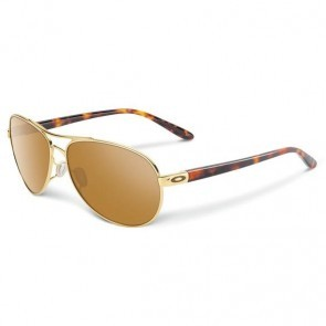 Oakley FEEDBACK Polished Gold / Tungsten Iridium Sunglasses