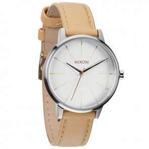 Nixon KENSINGTON Leather Natural with  Silver Watch-A108-1603