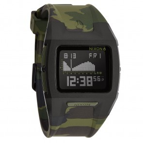 Nixon LODOWN II Black with  Green Camo Watch-A289-1629