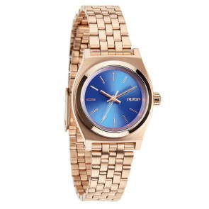Nixon SMALL TIME TELLER Rose Gold with  Cobalt Watch-A399-1748