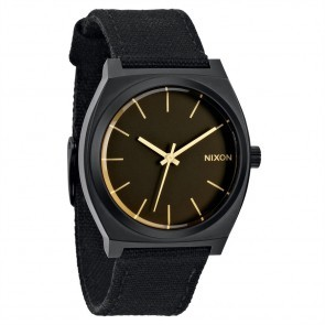 Nixon TIME TELLER Matte Black with  Orange Tint Watch-A045-1354
