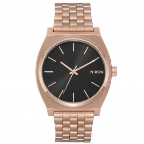 Nixon TIME TELLER All Rose Gold / Black Sunray Watch