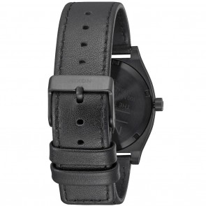 Nixon TIME TELLER All Black / White Watch